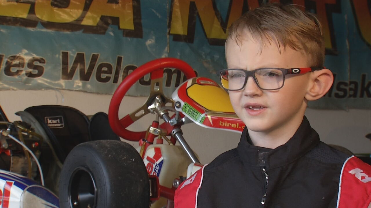 7-Year-Old Bixby Racer Hopes To Drive For Team Ferrari Someday