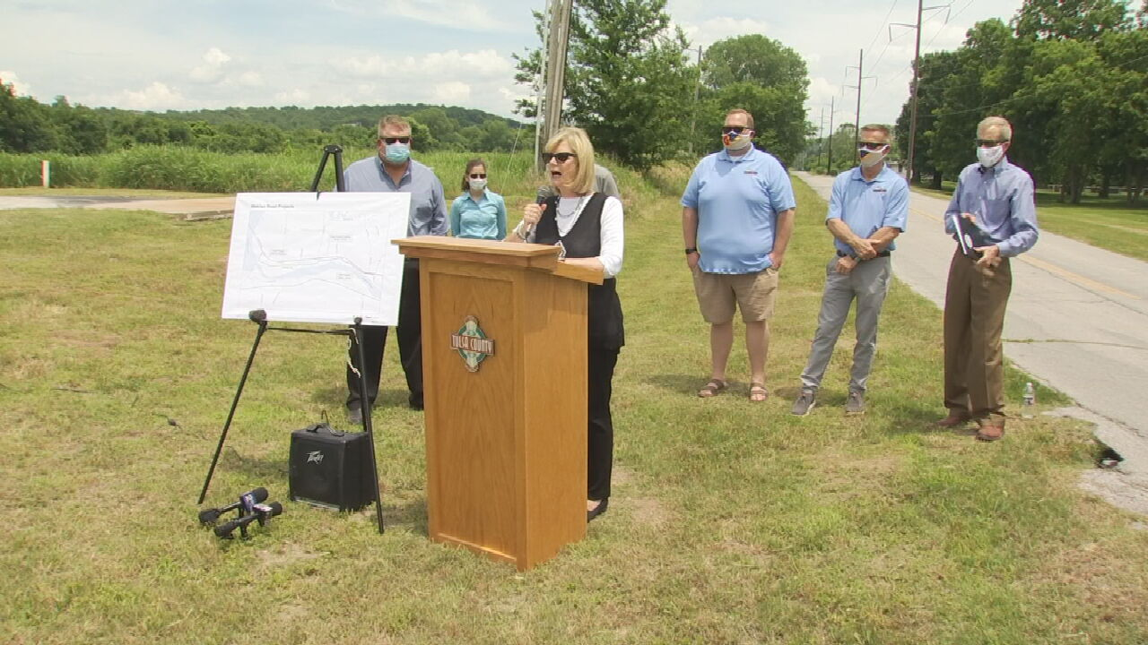 Tulsa County Announces Plans To Widen Wekiwa Road