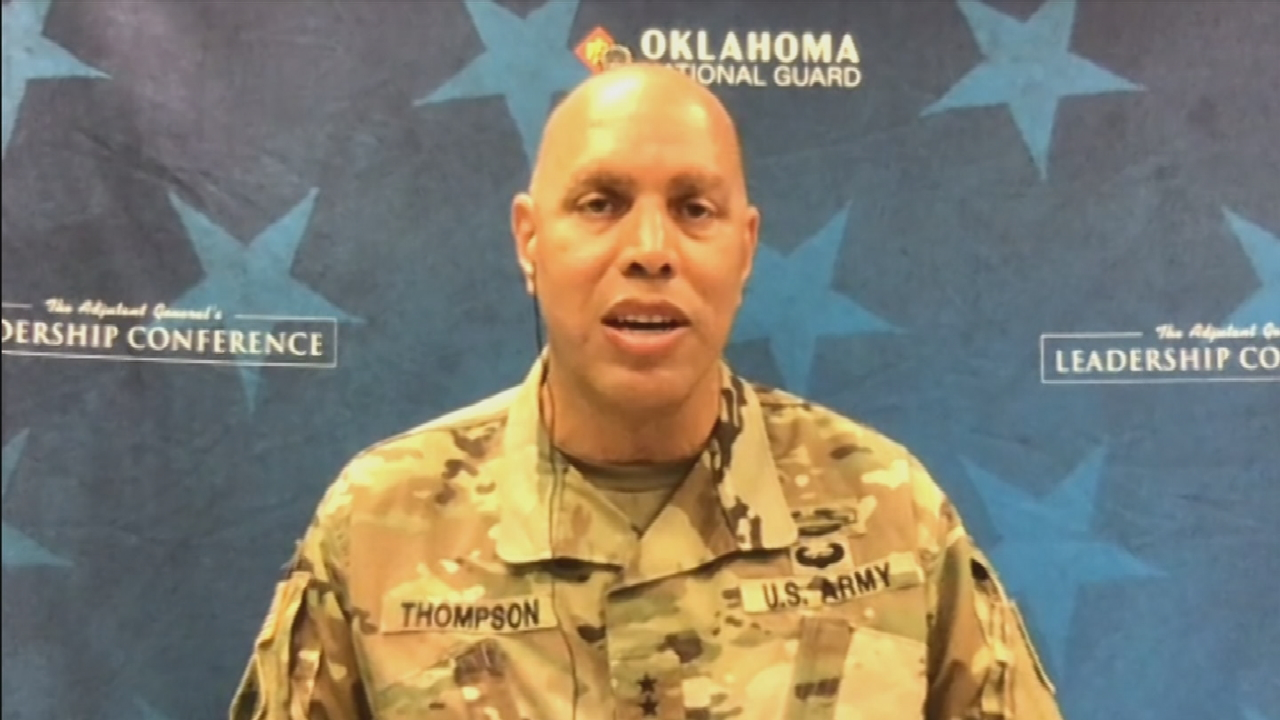 Major General Michael Thompson On National Guard's Role In Oklahoma During Protests