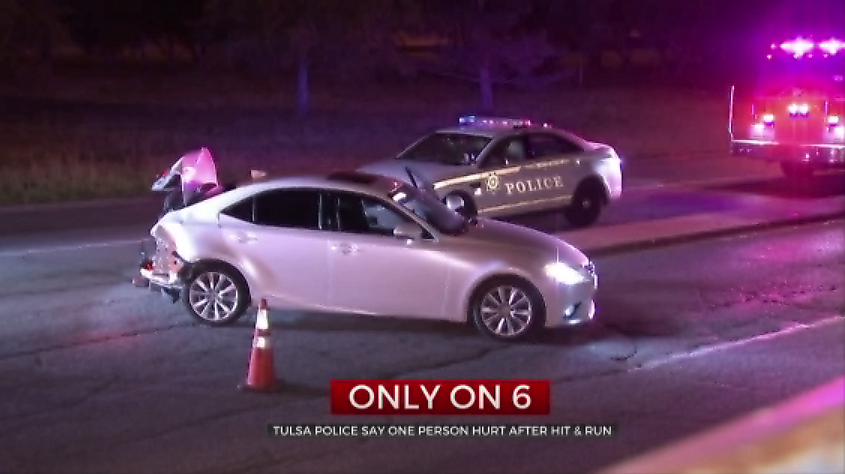 Victim Of Hit And Run In Hospital; Suspect On The Run, Tulsa Police Say