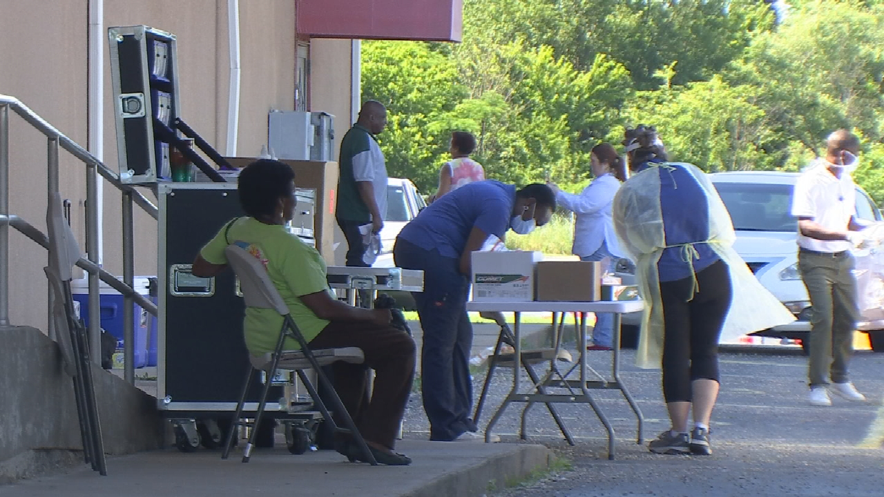 Tulsa Health Department Says Grocery Handout, COVID-19 Testing Event Was Major Success
