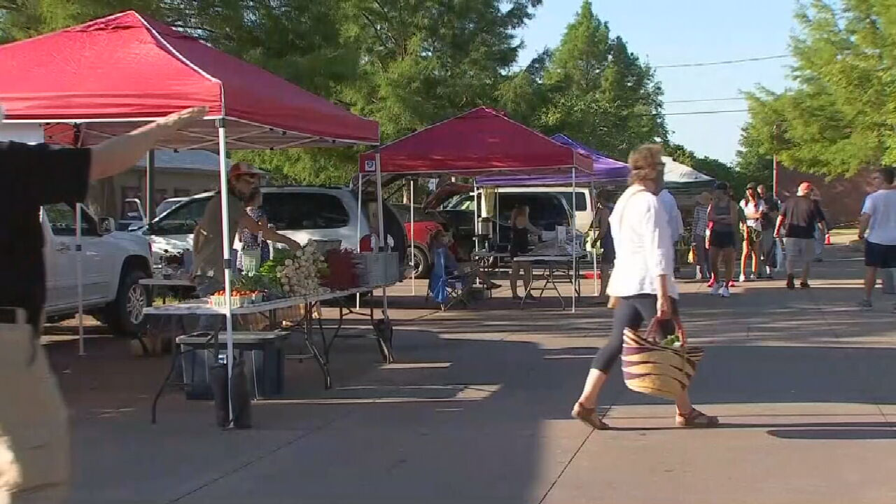 Tulsa Farmer's Market Reopens With New Safety Measures