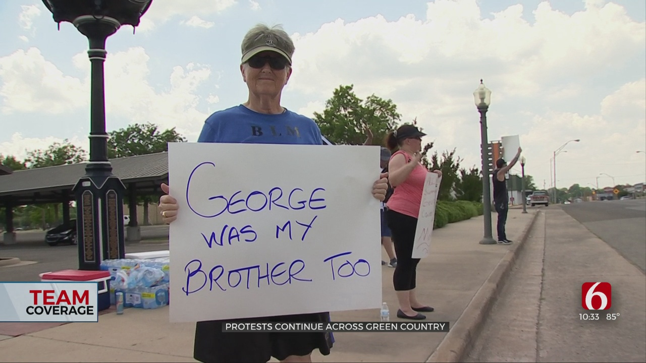 Green Country Protests Bring Out Protesters Of All Ages