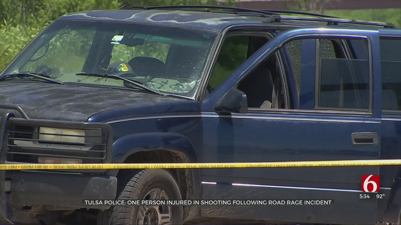 Tulsa Police Investigating Shooting At Apache And Yale