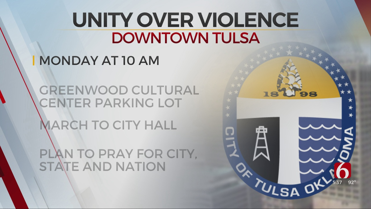 'Unity Over Violence' March Planned For Monday