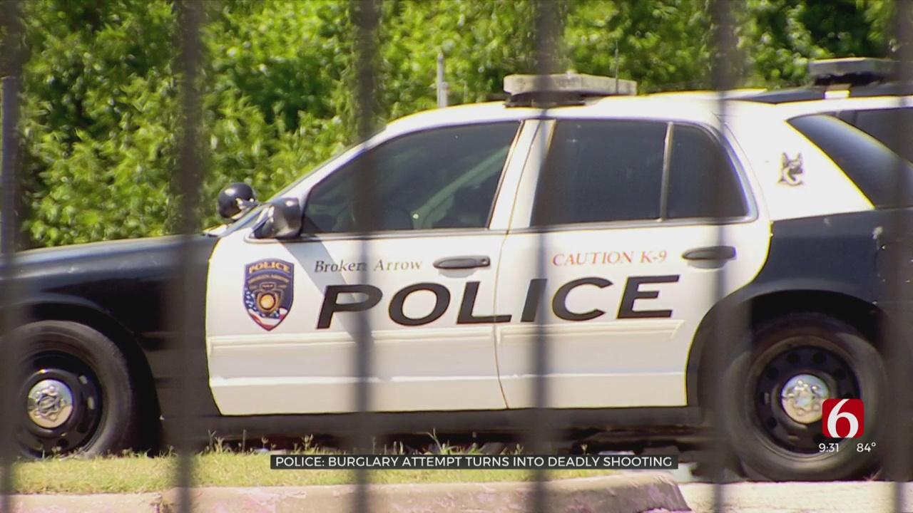 Burglary Attempt Turns Into Deadly Shooting In Broken Arrow