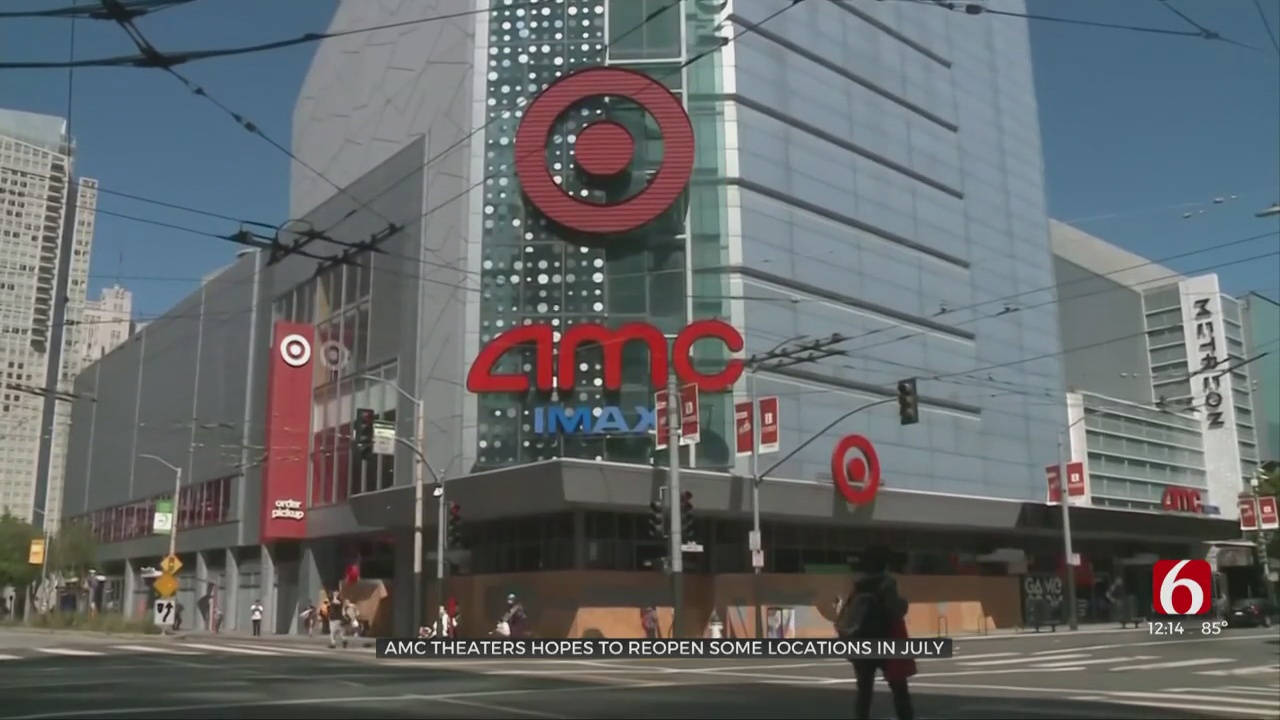 AMC Theaters To Reopen Some Locations