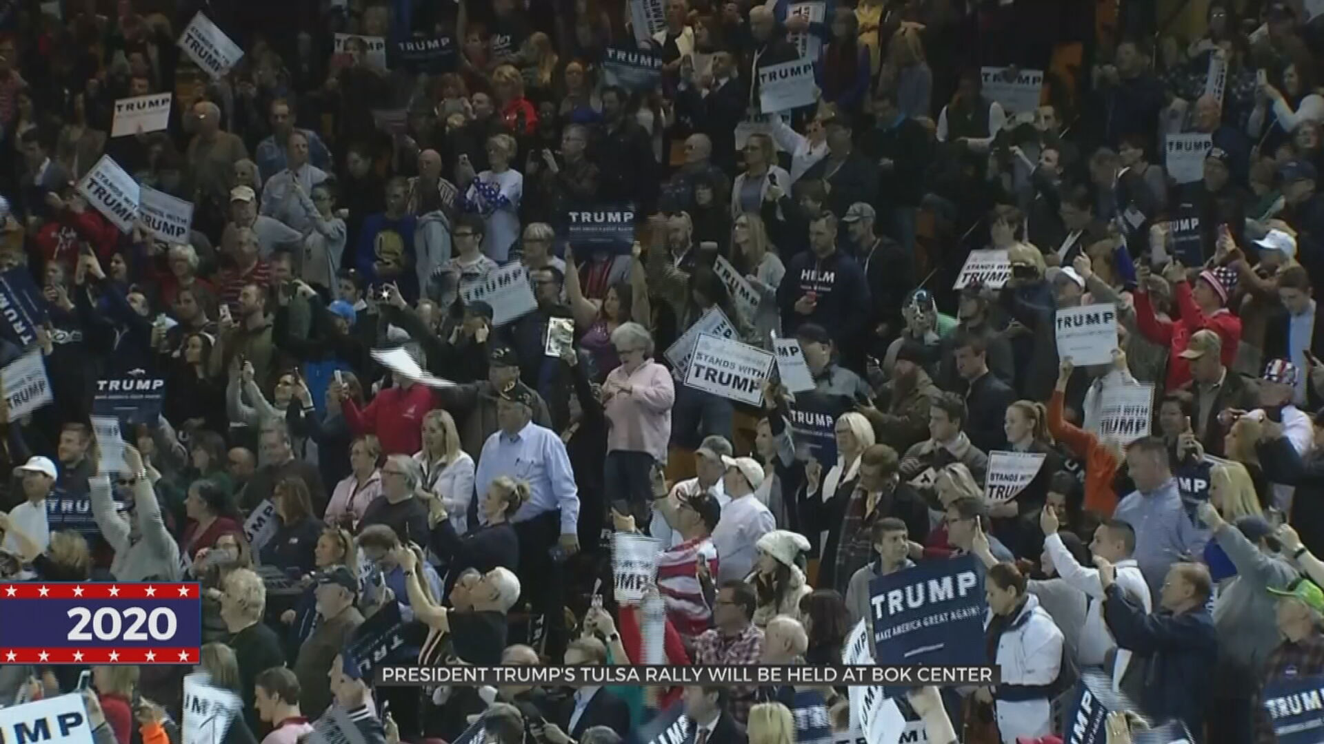 President Trump's Rally To Be Held At Tulsa's BOK Center