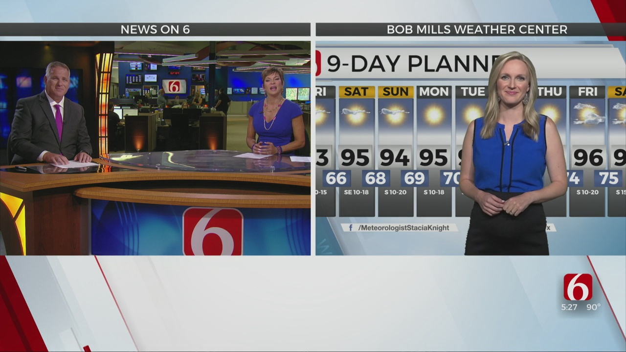 Thursday Evening Forecast with Stacia Knight