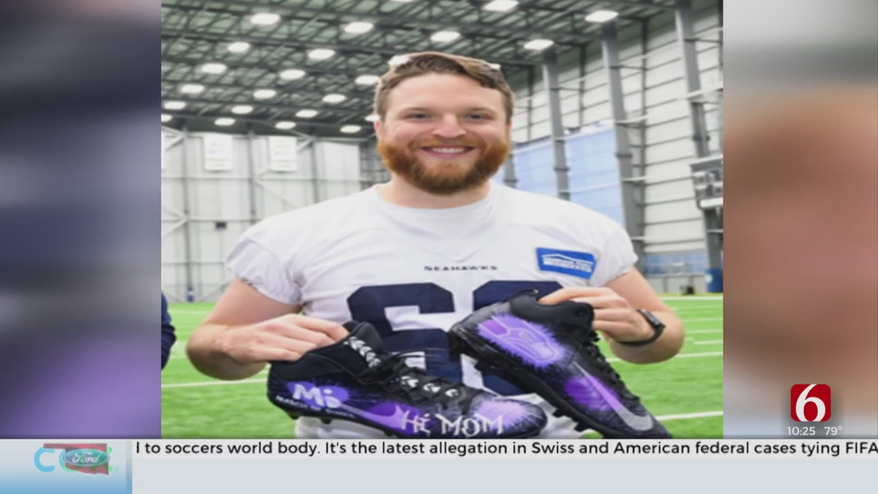 Former Jenks Star And Current NFL Player's Work With March Of Dimes Is Personal