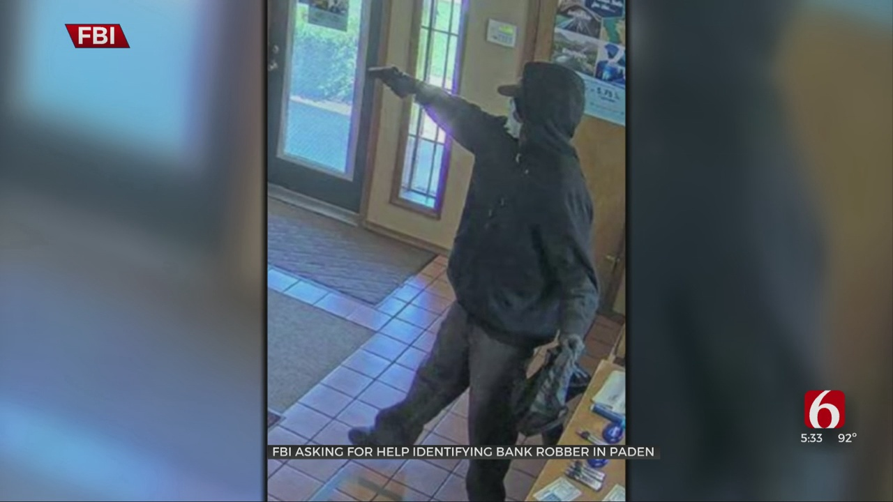 FBI Searching For Man They Say Robbed A Paden Bank