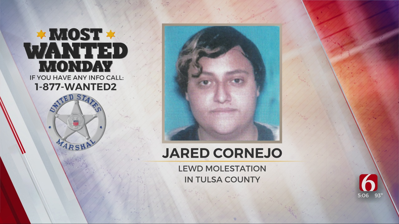 Most Wanted Monday:  U.S. Marshals Searching For Molestation Suspect