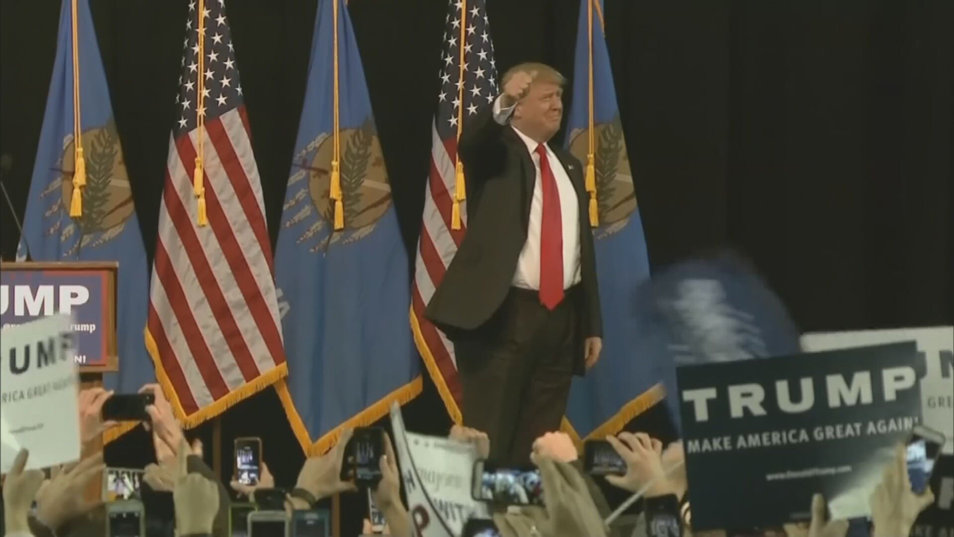 Health Officials Warn Of Potential COVID-19 Spread During President Trump Rally