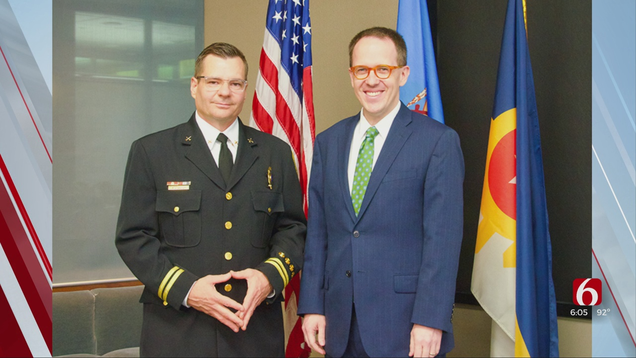 Mayor Bynum Selects Michael Baker As New Fire Chief
