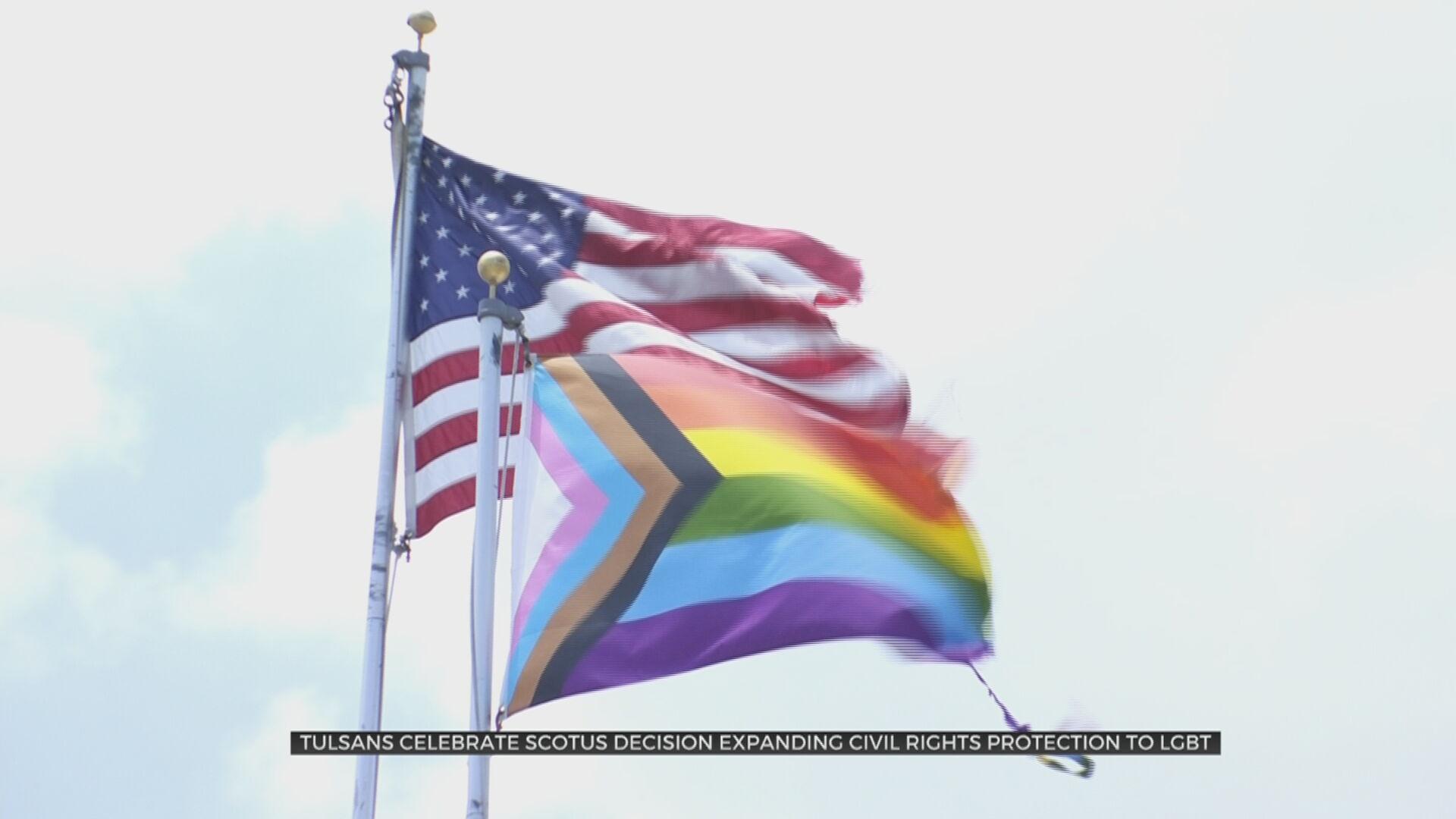 Oklahomans For Equality Board President Praises Supreme Court's Decision