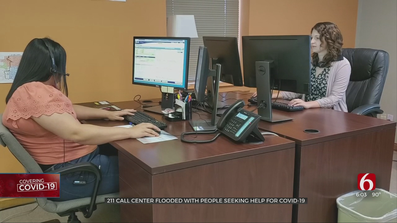 Coronavirus Call Center Expects Higher Number Of Calls If Cases Go Back Up