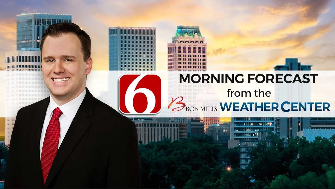Friday Morning Forecast With Stephen Nehrenz
