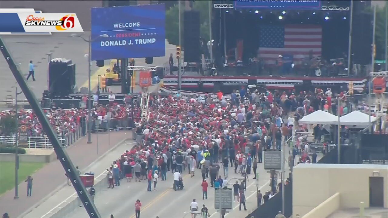 President's Campaign Team Highlights Strong Digital Viewership After Tulsa Rally