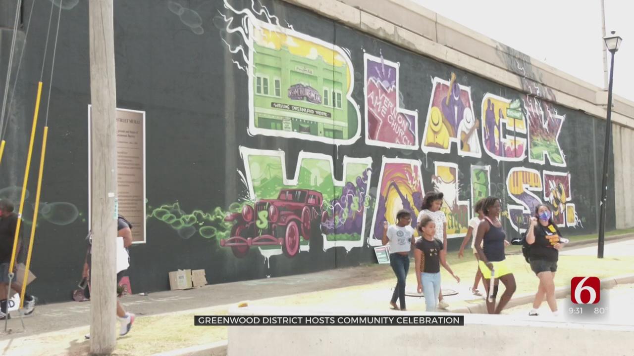 Historic Greenwood District Holds Juneteenth Celebration