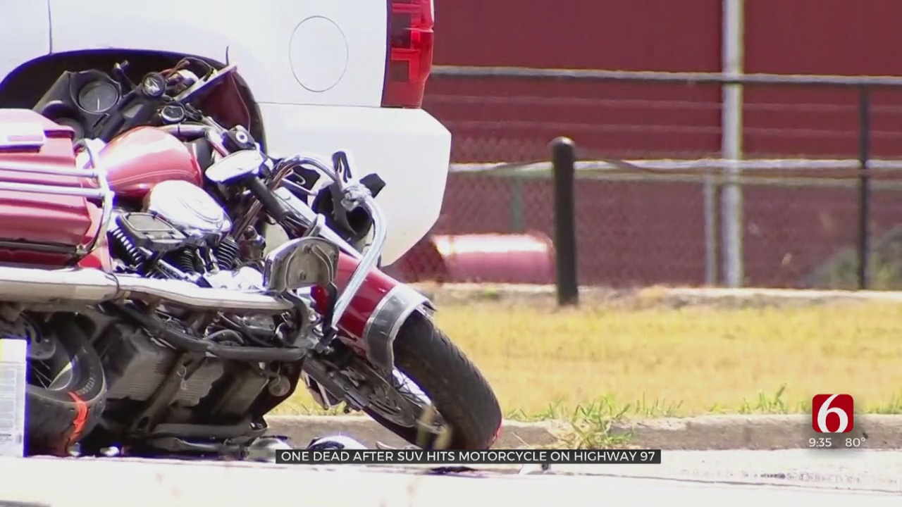 Driver Of Motorcycle Dies After Collision With SUV