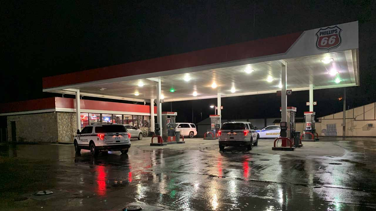2 Teens Rob Turley Gas Station, Law Enforcement Says