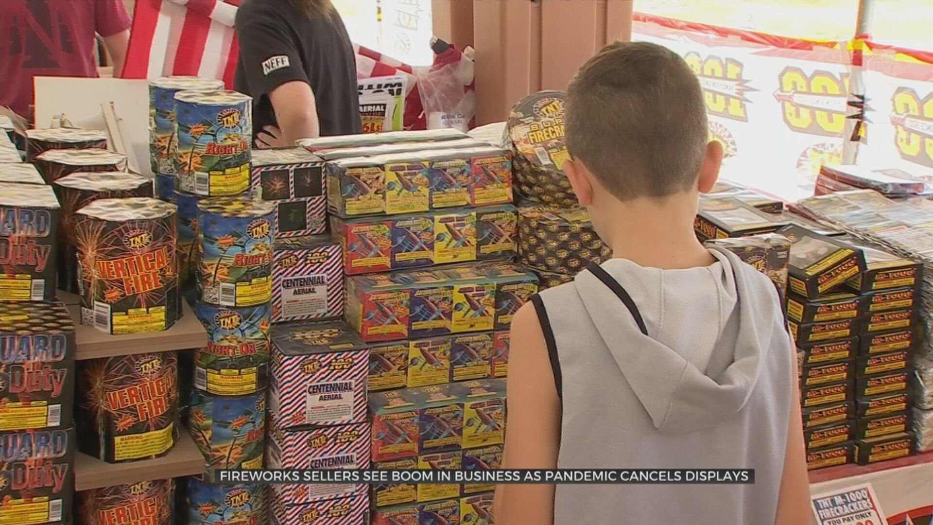 Oklahoma Firework Vendors See Increased Sales For Personal Use Due To Less Events