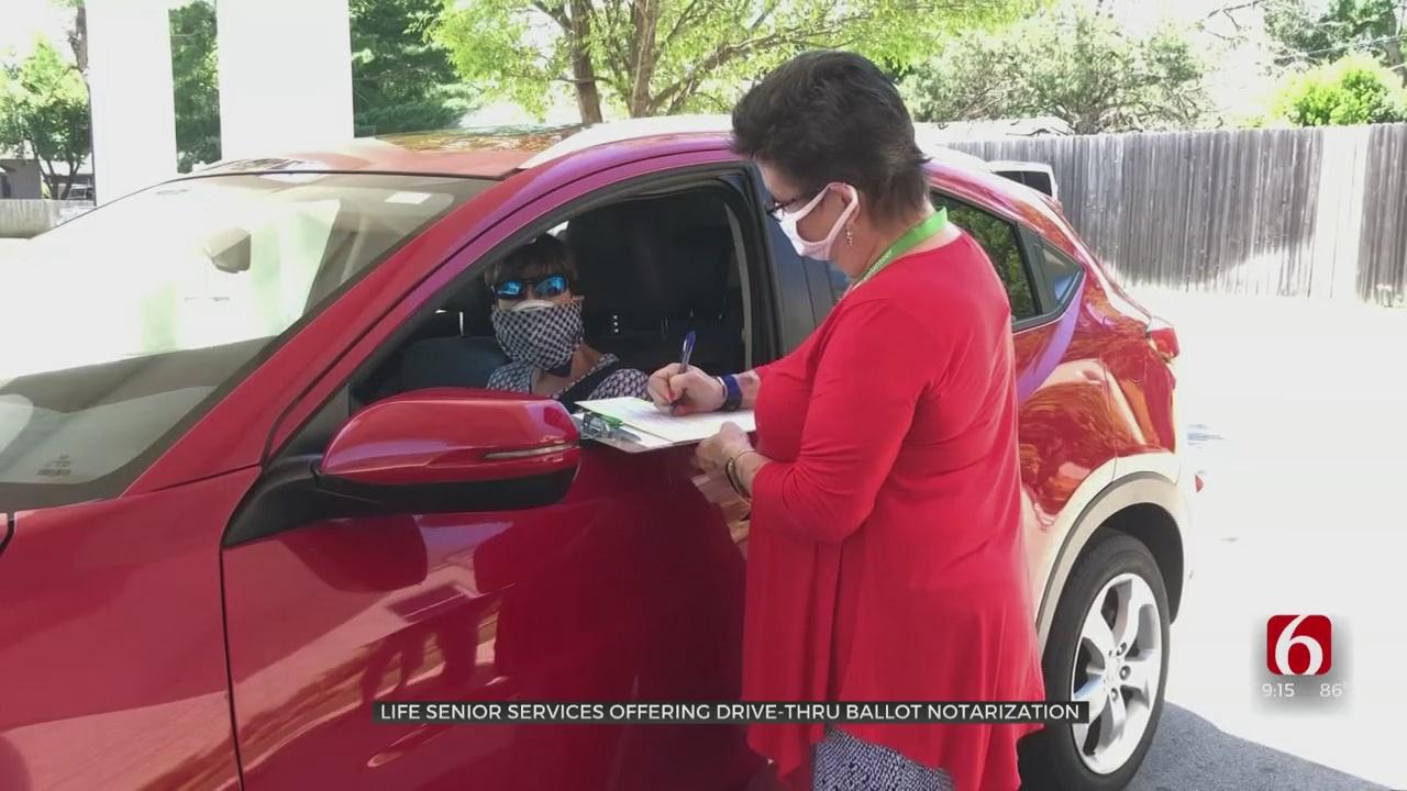 Life Senior Services Offers Drive-Thru Ballot Notarization