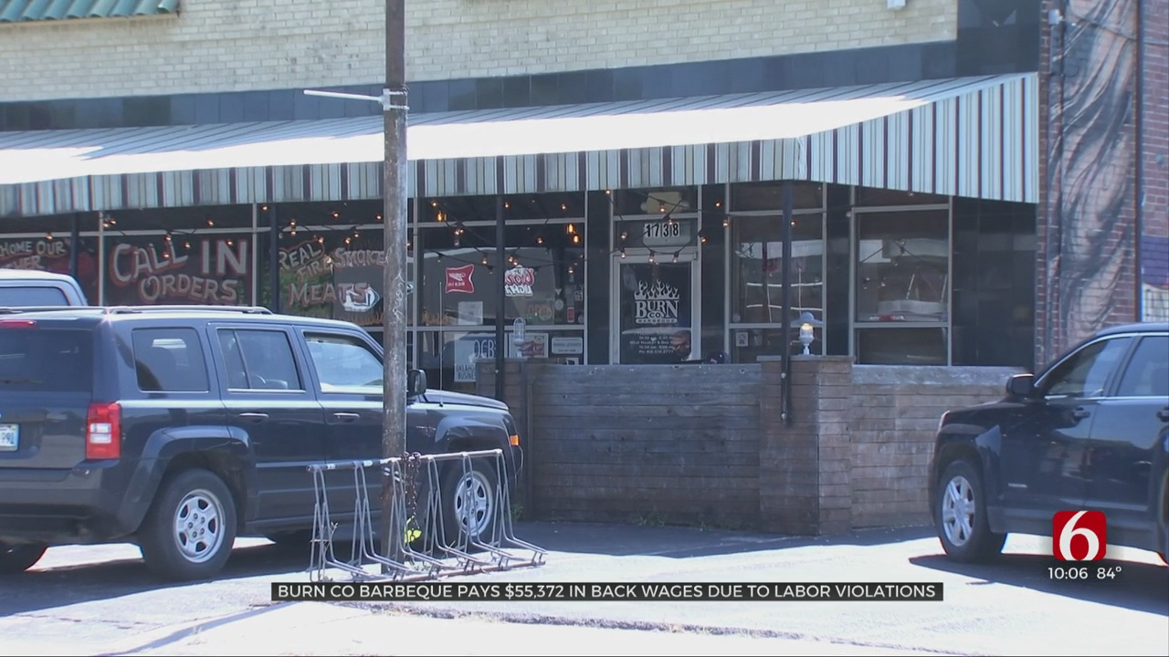 Burn Co Barbeque Pays Over $55,000 In Back Wages Due To Labor Violations