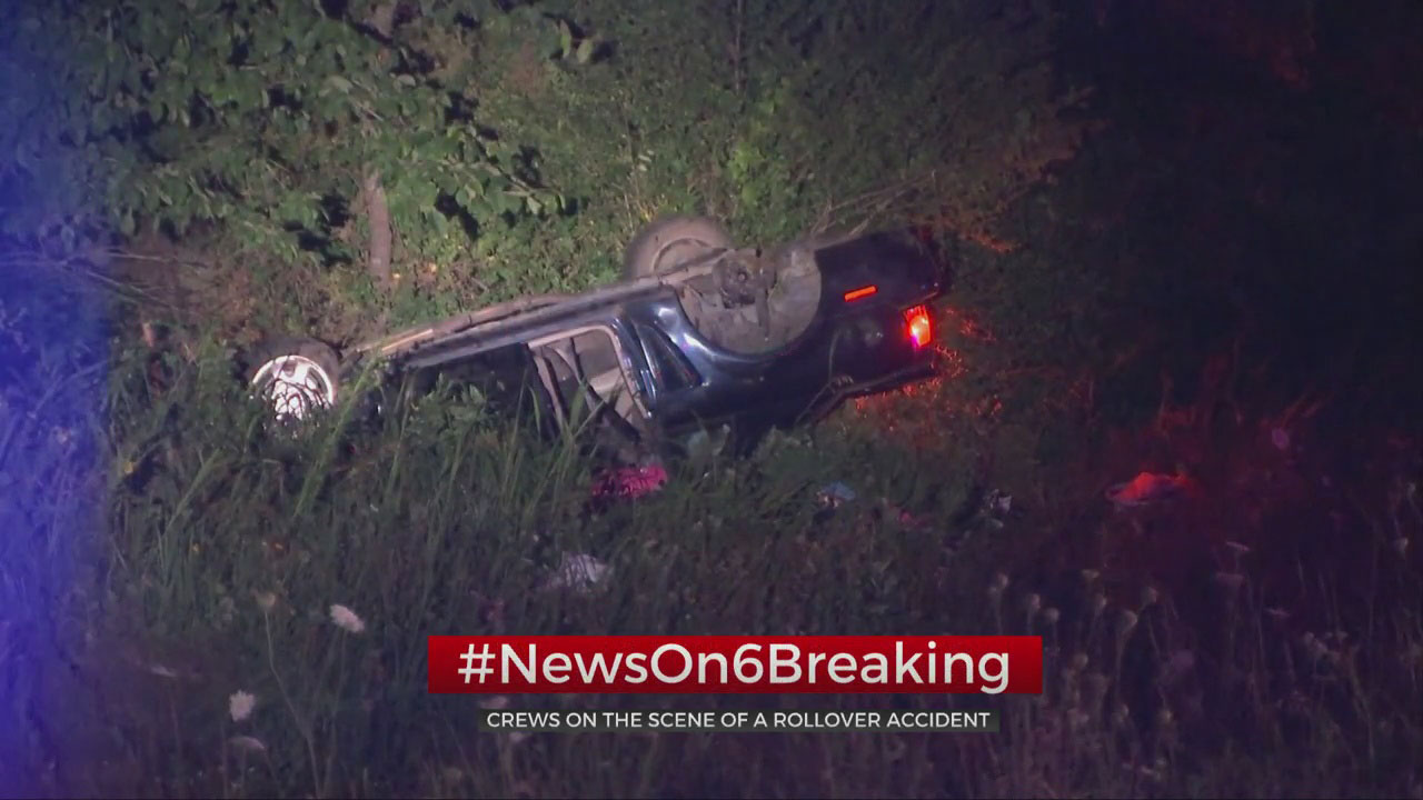 Woman Taken To Hospital After Rollover Crash Near Catoosa