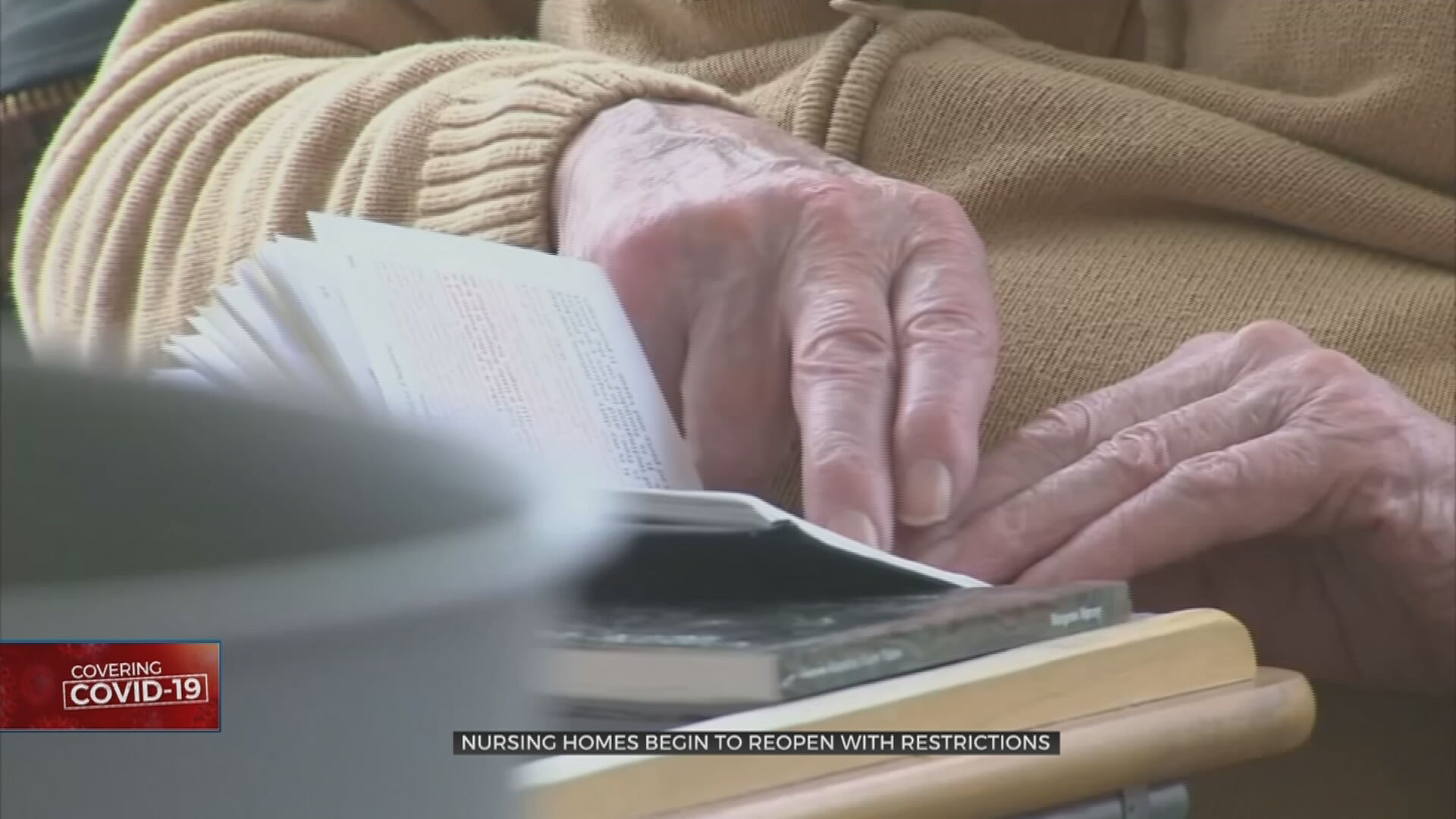 Nursing Homes Try To Reopen With Restrictions, Limited By Rise In Positive Cases
