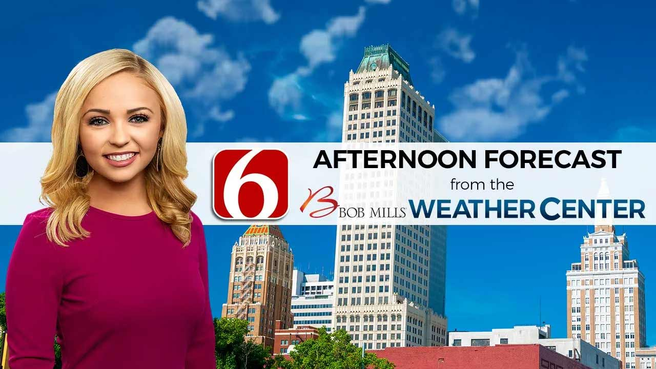 Saturday Afternoon Forecast With Kendall Smith