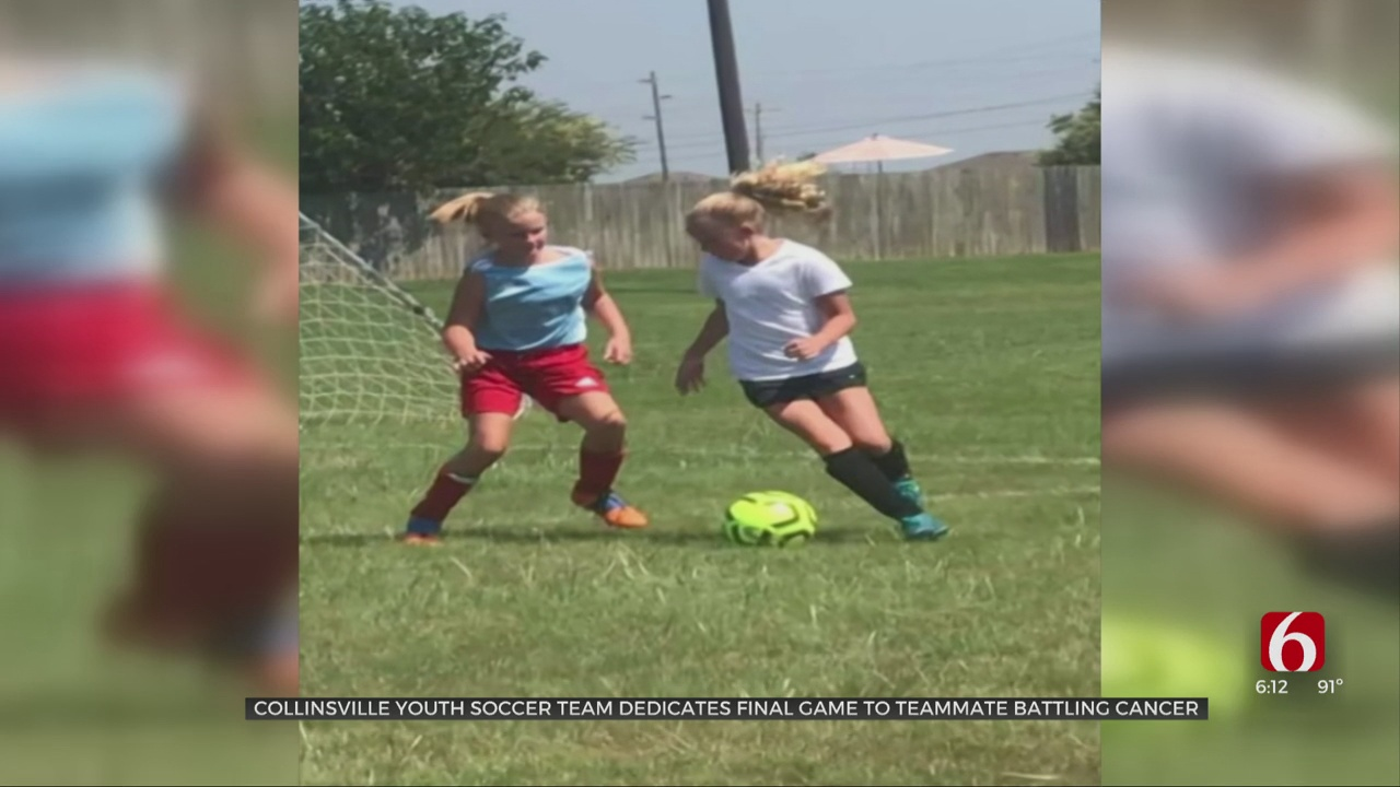 Collinsville Youth Soccer Team Dedicates Last Game To Teammate Diagnosed With Cancer
