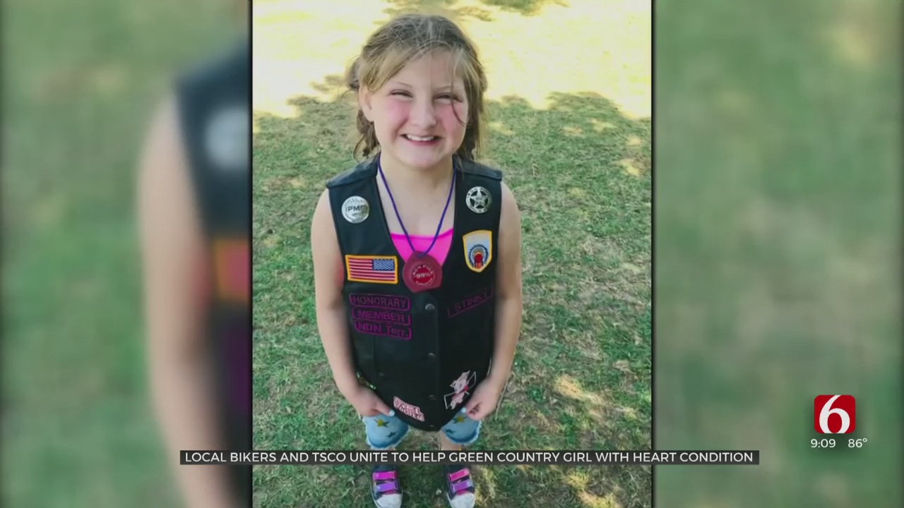 Tulsa County Sheriff's Office Hold Poker Run For 11-Year-Old With Heart Condition