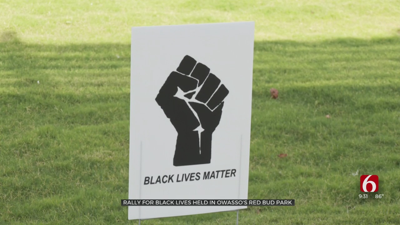Black-Owned Businesses Lend Support In BLM Rally In Owasso