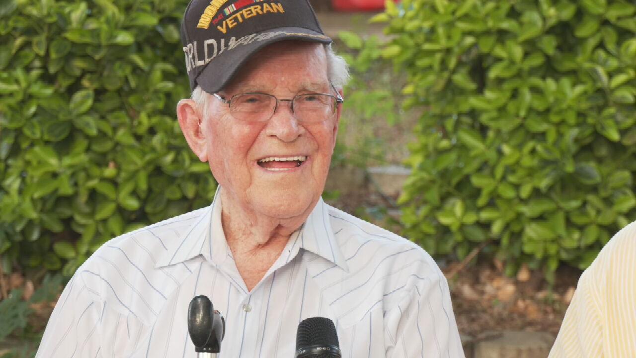 Owasso Navy Veteran Celebrates 95th Birthday