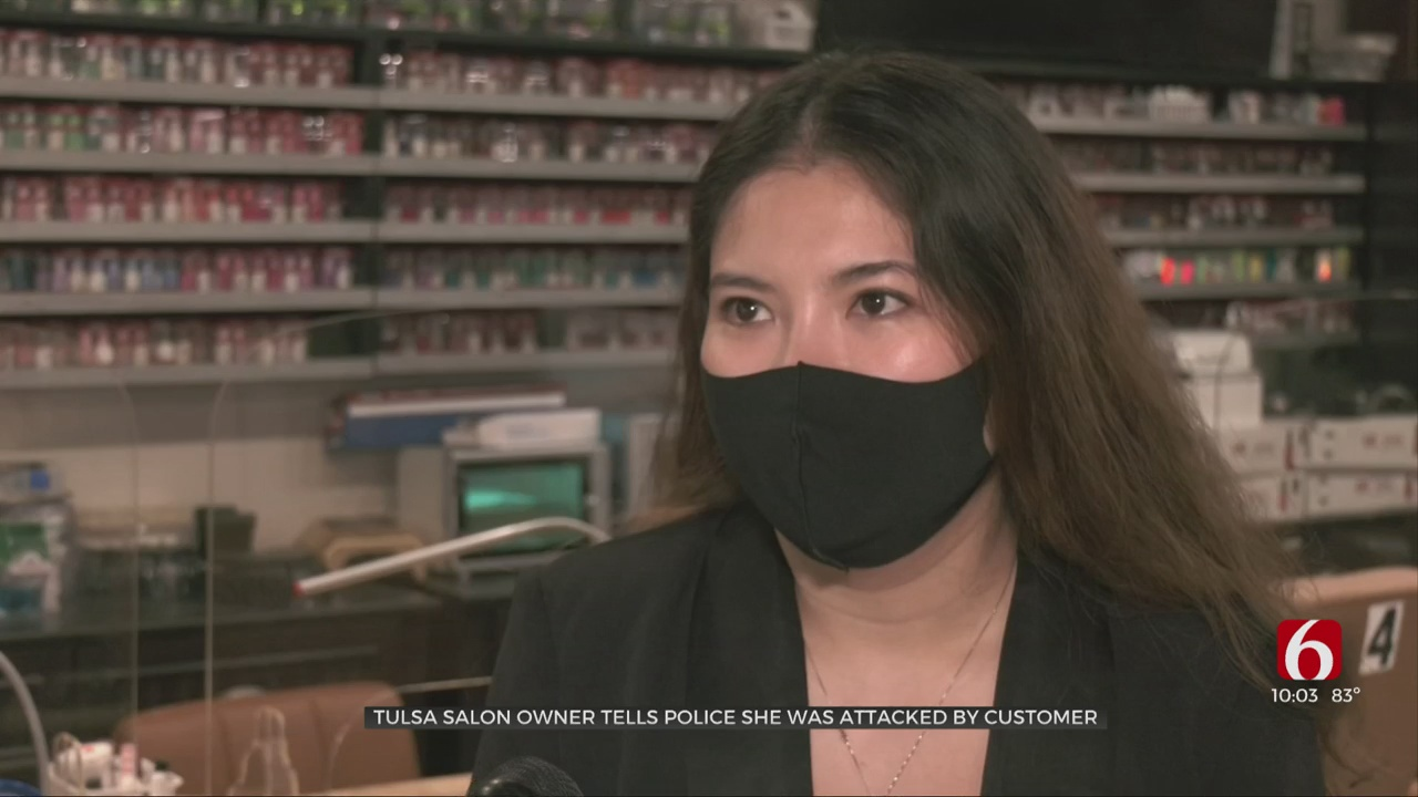 Tulsa Business Owner Says She Was Assaulted By A Customer