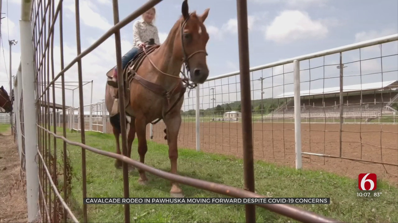 Annual Cavalcade Rodeo Still A Go Amid COVID-19 Concerns
