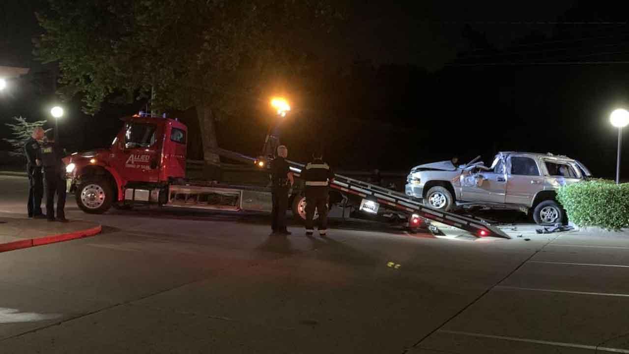 Tulsa Police: Man Dies After Rolling Vehicle In Crash