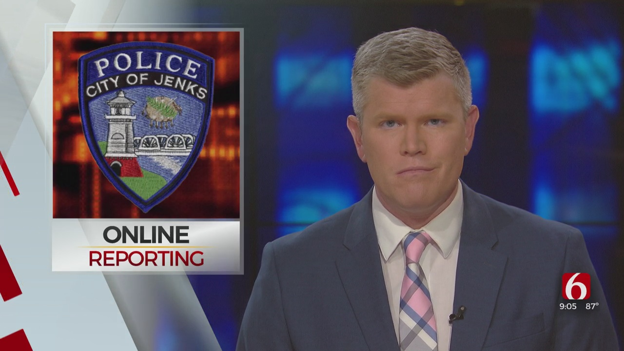 Jenks Police Offers Online Reporting For Non-Emergency Crimes