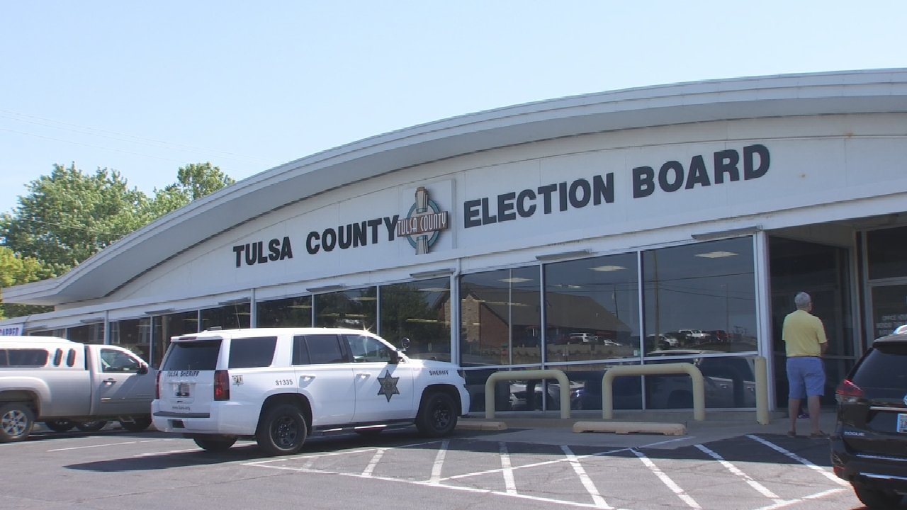 Oklahoma Polling Places Employ New COVID-19 Safety Measures