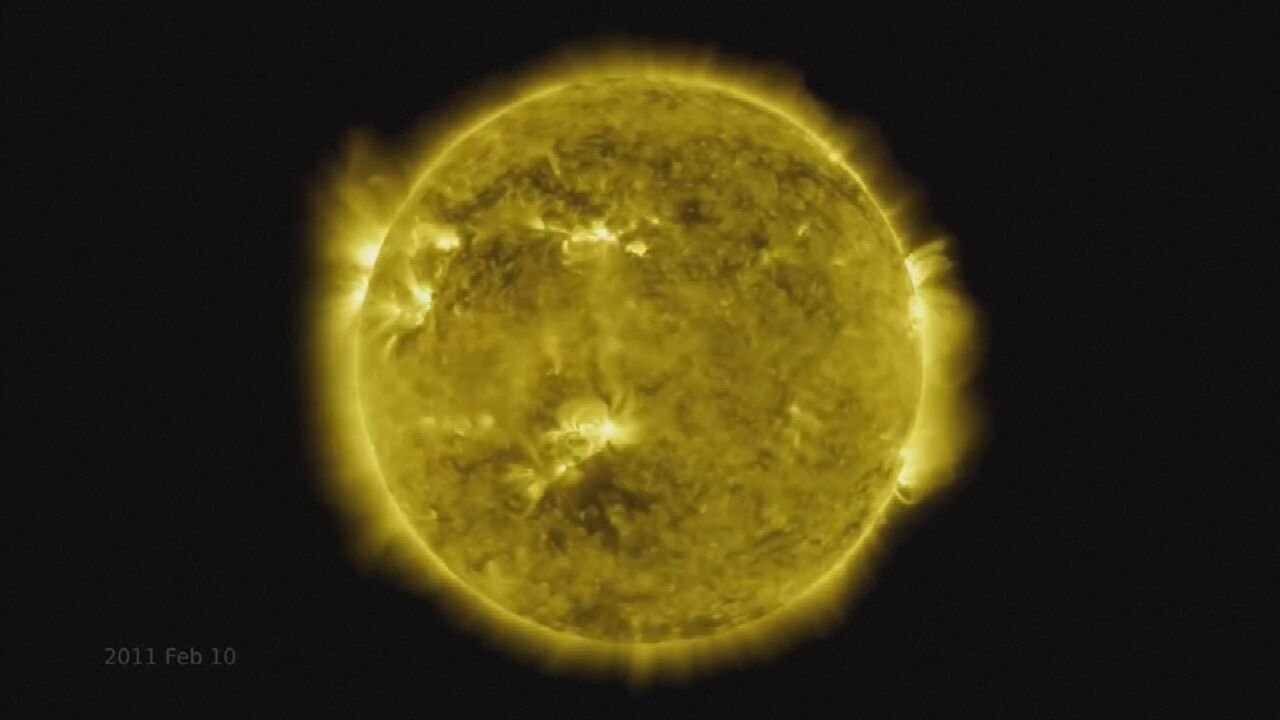 WATCH: NASA Releases Time Lapse Of The Sun 10 Years In The Making