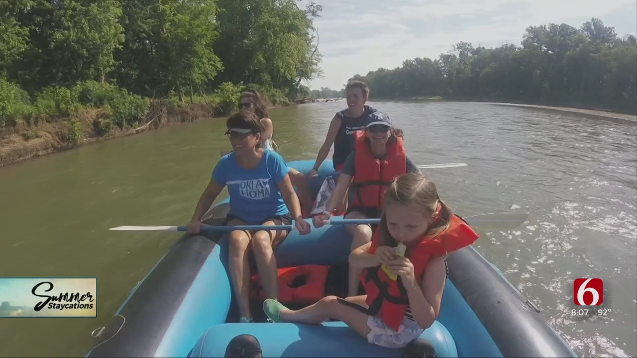 Summer Staycations: Illinois River & Tahlequah