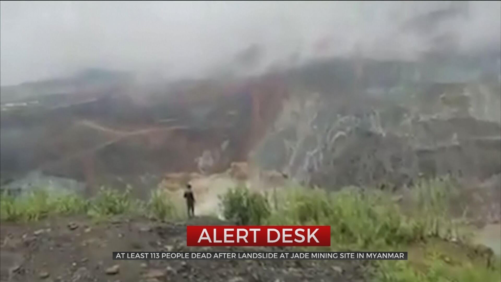 Landslide Kills More Than 100 In 'Dystopian Wasteland' Of Myanmar's Jade Mines