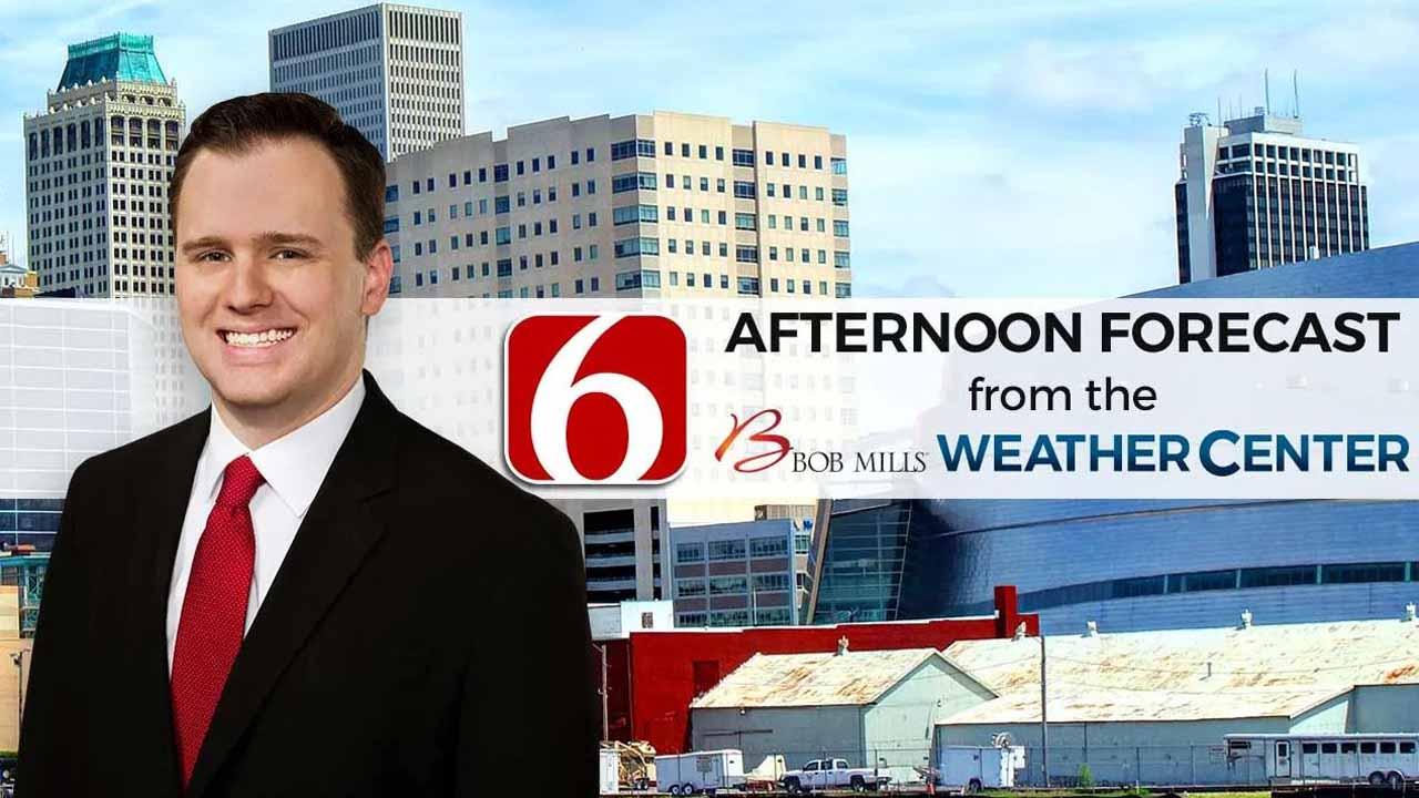 Thursday Afternoon Forecast With Stephen Nehrenz
