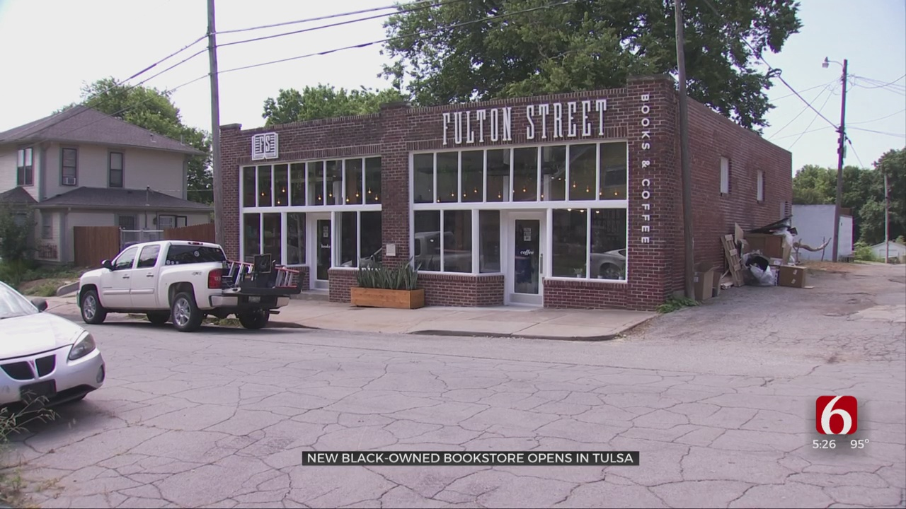 Black-Owned Bookstore Opens In Tulsa, Aims To 'Center Lived Experiences'