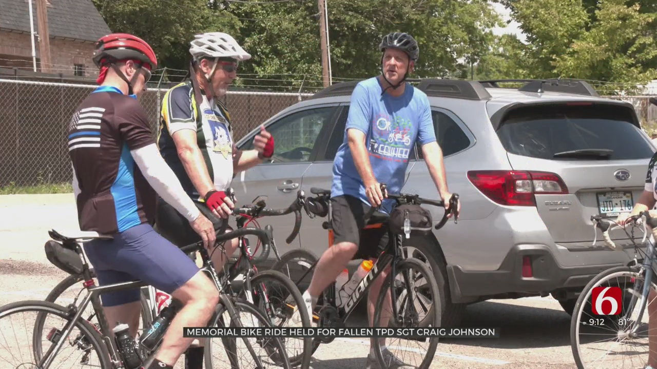 Bike Riders Come Together To Support Fallen Tulsa Officer