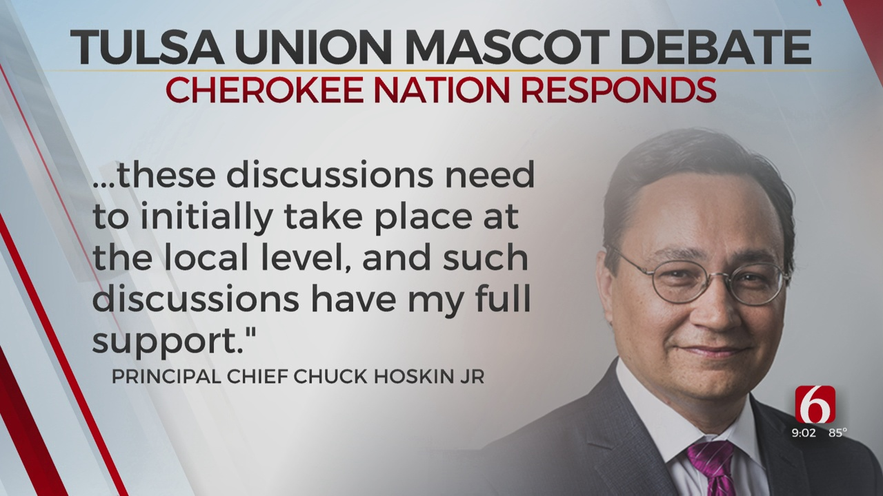 Union Public Schools To Reevaluate District's Mascot