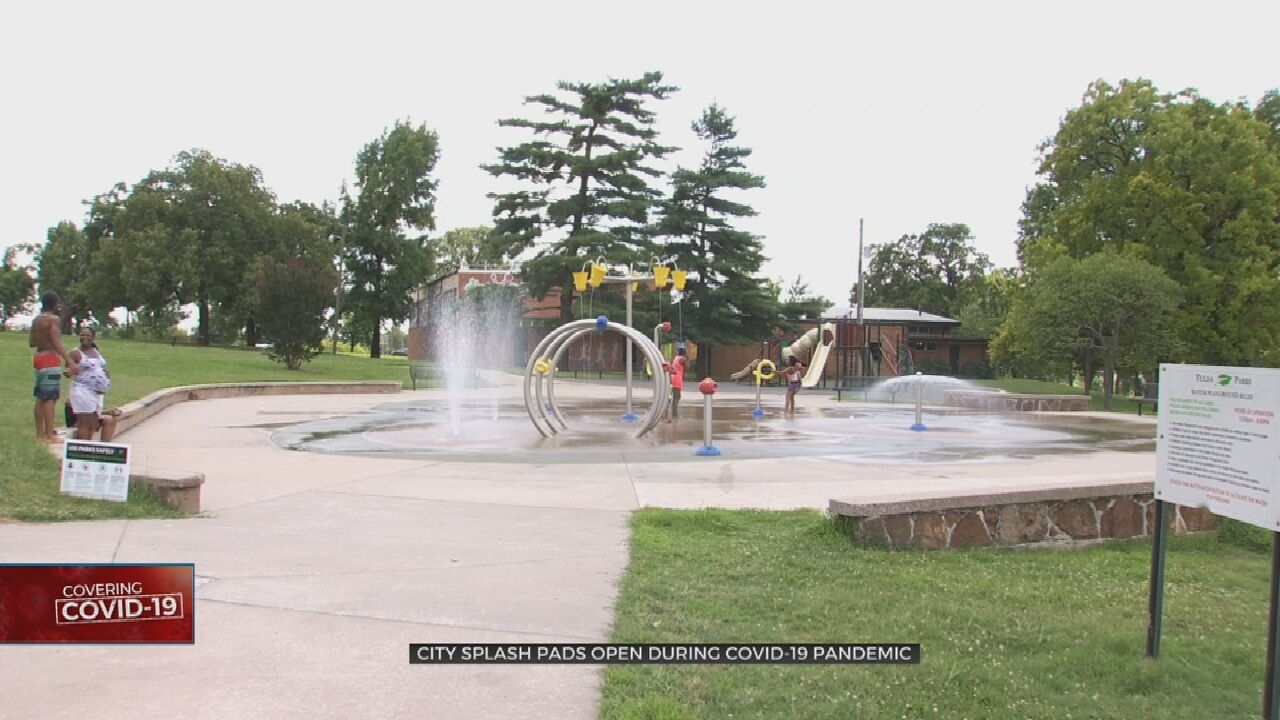 City Of Tulsa Opens Splash Pads, Encourages Physical Distancing