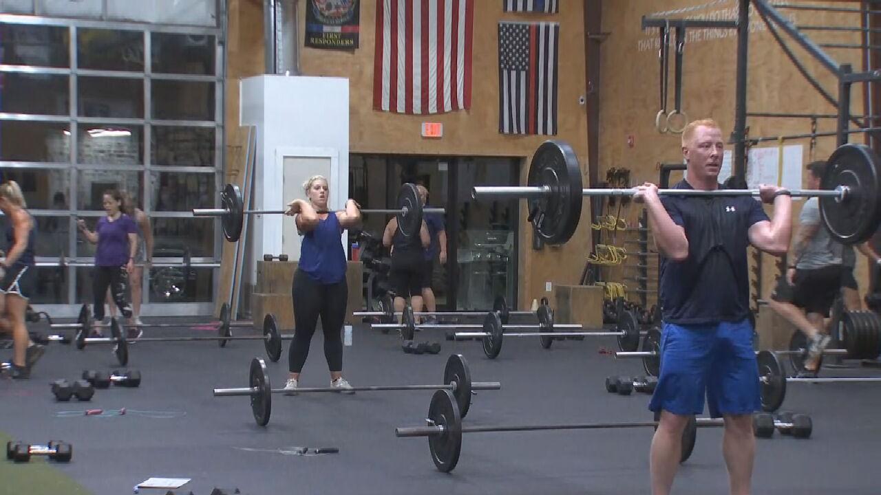 Jenks Gym Hosts Workout To Honor Fallen Tulsa Police Sergeant Craig Johnson