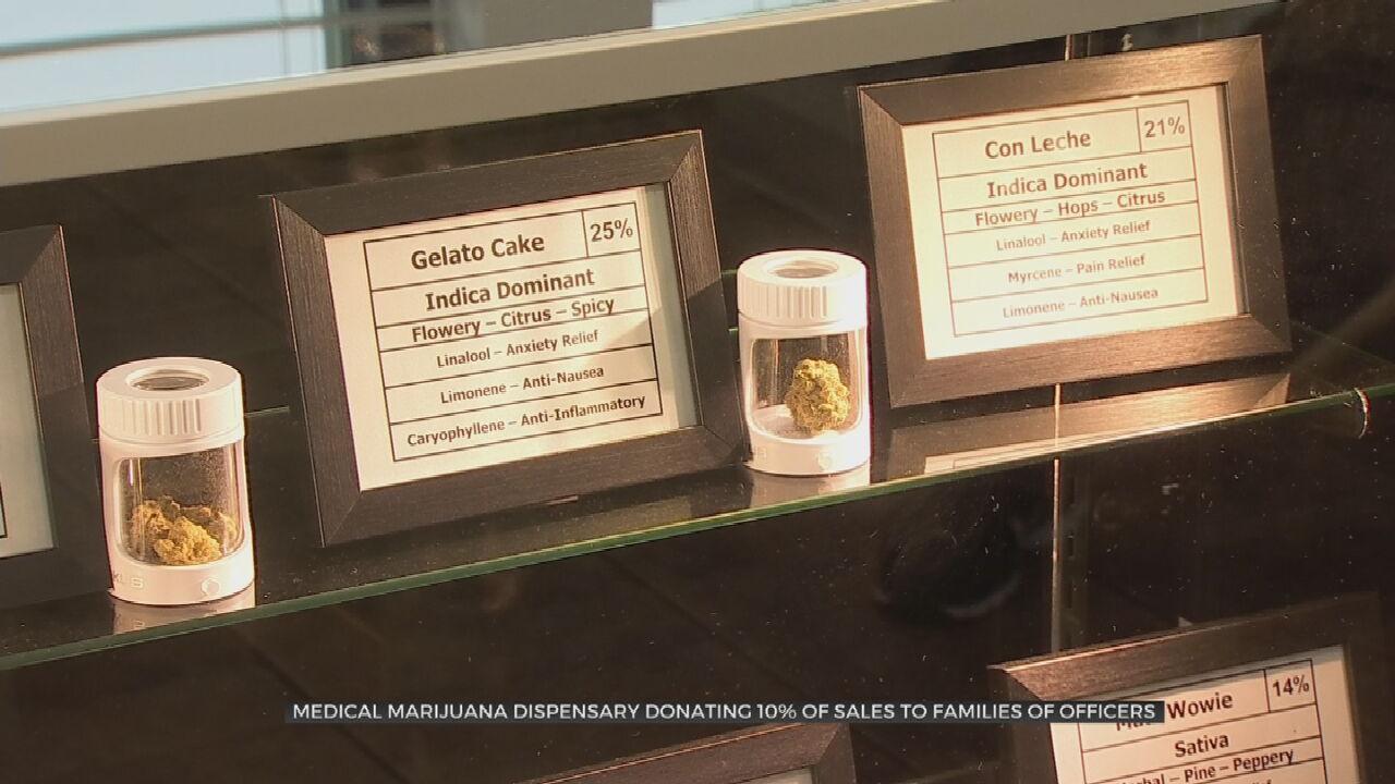 Tulsa Medical Marijuana Dispensary Raising Money For Tulsa Officers Shot In Line Of Duty